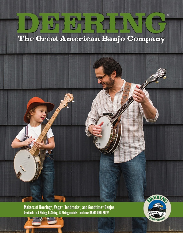 Deering Banjo Catalog 2017 Cover